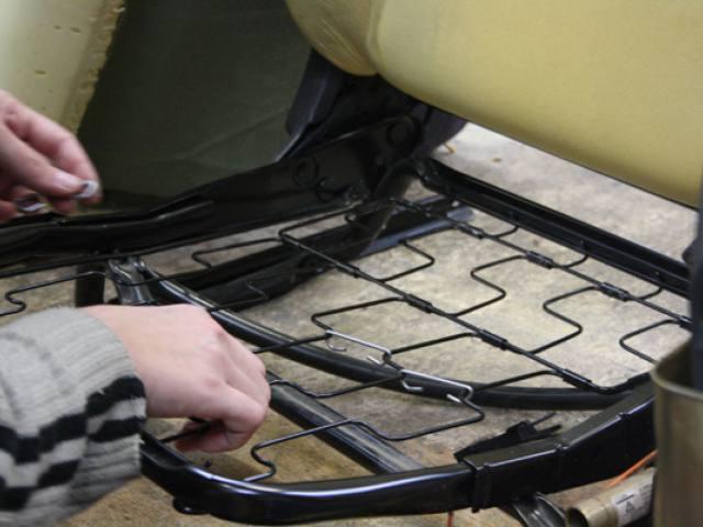 réparations sièges automobiles 17
